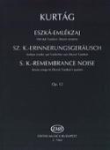 Eszka- Emlekzaj Opus 12. - György Kurtag - laflutedepan.com