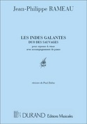 Duo des Sauvages. les Indes Galantes. laflutedepan.com