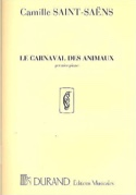 Carnaval des Animaux 1er Piano Solo Orchestre. laflutedepan