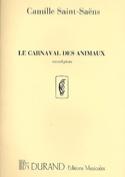 Carnaval des Animaux 2e Piano Solo Orchestre. laflutedepan