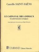 Le Carnaval des Animaux. 2 Pianos SAINT-SAËNS Partition laflutedepan