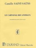 Le Carnaval des Animaux. 4 mains Camille Saint-Saëns laflutedepan.com