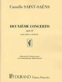 Concerto pour piano n° 2 Opus 22 SAINT-SAËNS Partition laflutedepan