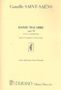 Danse Macabre Opus 40. 2 Pianos 8 Mains SAINT-SAËNS laflutedepan