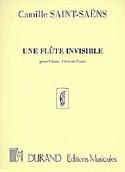 Une Flûte Invisible Camille Saint-Saëns Partition laflutedepan.com