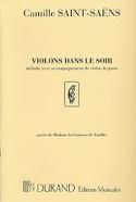Violons Dans le Soir - Camille Saint-Saëns - laflutedepan.com