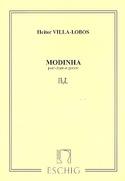 Modinha Heitor Villa-Lobos Partition Guitare - laflutedepan.com