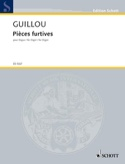 Pièces Furtives op. 58 Jean Guillou Partition Orgue - laflutedepan