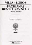Bachianas Brasileiras N° 5-1 - Heitor Villa-Lobos - laflutedepan.com
