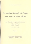 Les Maîtres Français De L'orgue Volume 1 Partition laflutedepan.com