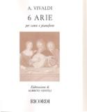 6 Arie VIVALDI Partition Mélodies - laflutedepan.com