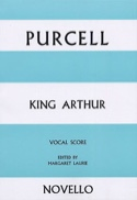 King Arthur Henry Purcell Partition Opéras - laflutedepan.com