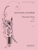 Danses Slaves Opus 72 Volume 1 Anton Dvorak Partition laflutedepan.com