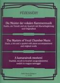 Les Maîtres de la Musique de Chambre Vocale. - laflutedepan.com