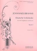 Deutsche Volkslieder Volume 2 Johannes Brahms laflutedepan.com