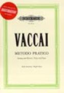 Metodo Pratico Voix Haute Nicola Vaccai Partition laflutedepan.com