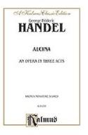 Alcina. Conducteur HAENDEL Partition Petit format - laflutedepan
