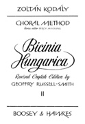 Bicinia Hungarica Volume 2 - Zoltan Kodaly - laflutedepan.com
