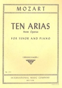 10 Arias From Operas For Tenor MOZART Partition laflutedepan.com