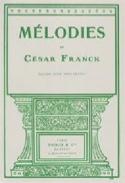 Mélodies. Voix Grave FRANCK Partition Mélodies - laflutedepan
