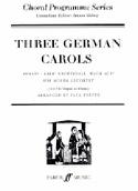 3 German Carols Partition Chœur - laflutedepan.com