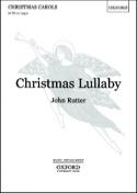 Christmas Lullaby. SATB John Rutter Partition Chœur - laflutedepan.com