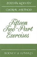 15 2-Parts Exercises - Zoltan Kodaly - Livre - laflutedepan.com