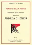 Nemico Della Patria. Andrea Chénier - laflutedepan.com