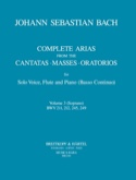Complete arias from the cantatas, masses, oratorios Volume 3 laflutedepan.com