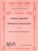 Offertorium Amavit Eum Antonio Sacchini Partition laflutedepan.com