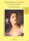 Les Classiques Du Chant Volume 2. Soprano Partition laflutedepan.com