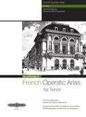 French Operatic Arias Ténor. Partition Opéras - laflutedepan.com