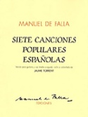 7 Canciones Populares Espanolas - Manuel de Falla - laflutedepan.com