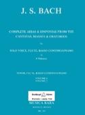 Complete arias from the cantatas, masses, oratorios Volume 7 laflutedepan.com