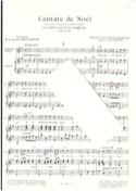 Cantate de Noël Louis-Claude Daquin Partition Chœur - laflutedepan.be