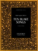 10 Blake Songs Williams Ralph Vaughan Partition laflutedepan.com