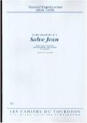 Salve Jesu Samuel Capricornus Partition Violoncelle - laflutedepan.com