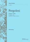 Stabat Mater Giovanni Battista Pergolese Partition laflutedepan.com
