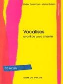 Vocalises Grojsman Didier / Edelin Michel Livre laflutedepan.com