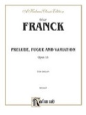 Prélude, Fugue et Variation Opus 18 FRANCK Partition laflutedepan