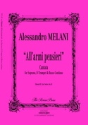 All'armi, Pensieri Alessandro Melani Partition laflutedepan.com