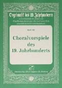 Choralvorspiele des 19 Jahrhunderts Partition laflutedepan.com