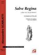 Salve Regina Alessandro Scarlatti Partition Duos - laflutedepan.com