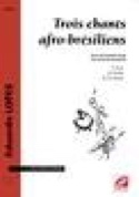 3 Chants Afro Brésiliens Eduardo Lopes Partition laflutedepan.com