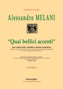Quai Bellici Accenti Alessandro Melani Partition laflutedepan.com