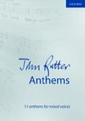 11 Anthems John Rutter Partition Chœur - laflutedepan.com
