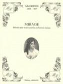 Mirage Mel Bonis Partition Mélodies - laflutedepan.com