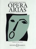 Opera Arias Basse Benjamin Britten Partition laflutedepan.com