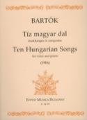 10 Hungarian Songs - Bela Bartok - Partition - laflutedepan.com