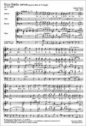 Ecce Fidelis Servus Op. 54 Gabriel Fauré Partition laflutedepan.com